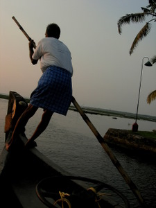 Drifting along the Backwaters
